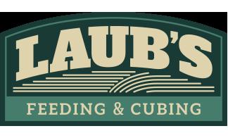 Laub's Feeding & Cubing | High Quality Hay Cubes, Grass, and Alfalfa